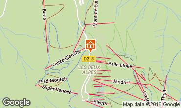 Carte Les 2 Alpes Appartement 50663