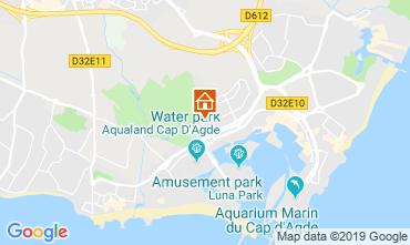 Carte Cap d'Agde Appartement 118962