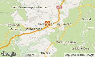 Carte Le Mont Dore Gite 50272