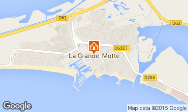 Carte La Grande Motte Studio 95225
