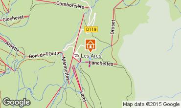 Carte Les Arcs Studio 233