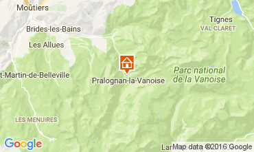 Carte Pralognan la Vanoise Appartement 38886