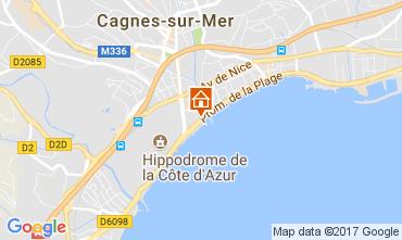 Carte Cagnes sur Mer Appartement 111275