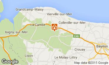 Carte Bayeux Gite 11456