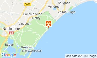 Carte Saint Pierre la Mer Villa 116974