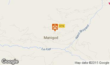 Carte Manigod-Croix Fry/L'étale-Merdassier Chalet 101553