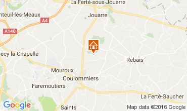 Carte Marne la Vallée Gite 107157