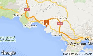 Carte Saint Cyr sur Mer Studio 84448