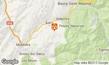 Carte La Plagne Chalet 2148