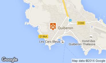 Carte Quiberon Maison 8780