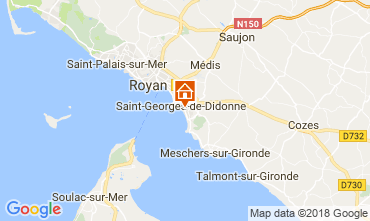 Carte Saint Georges de Didonne Studio 114678