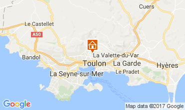 Carte Toulon Villa 110307