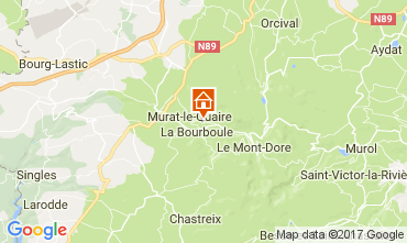 Carte La Bourboule Chalet 111687