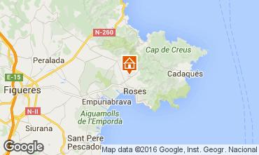 Carte Rosas Villa 85882