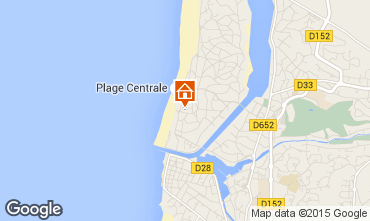 Carte Hossegor Appartement 94324