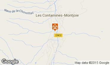 Carte Les Contamines Montjoie Appartement 18006