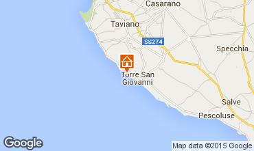 Carte Ugento - Torre San Giovanni Villa 46893