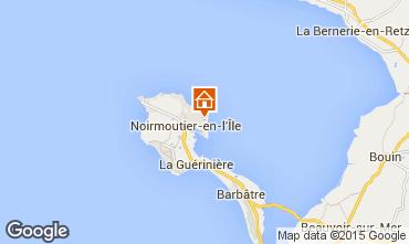 Carte Noirmoutier en l'Île Villa 93515