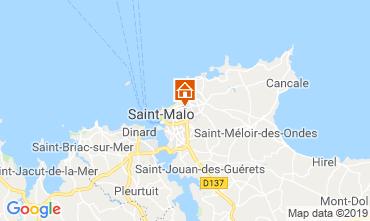 Carte Saint Malo Gite 119626