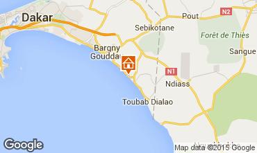 Carte Toubab Dialaw Villa 68147