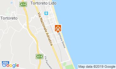 Carte Tortoreto Appartement 96795