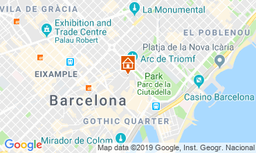 Carte Barcelone Appartement 118351