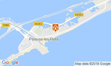 Carte Palavas-les-Flots Appartement 114784