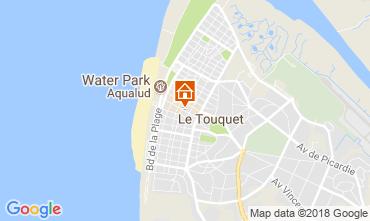 Carte Le Touquet Gite 114457