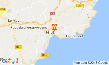 Carte Fréjus Appartement 113779
