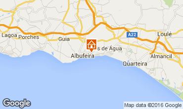 Carte Albufeira Appartement 102566