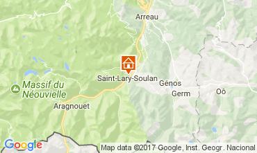 Carte Saint Lary Soulan Appartement 110661