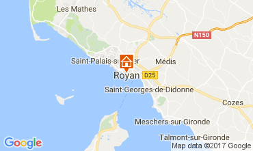 Carte Vaux sur Mer Appartement 112734