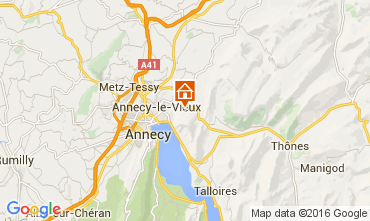 Carte Annecy Maison 12927
