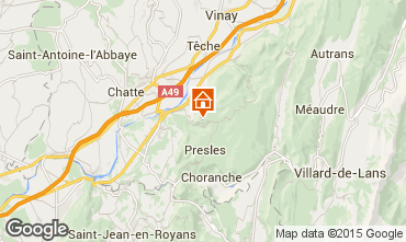 Carte Villard de Lans - Corrençon en Vercors Chalet 52709