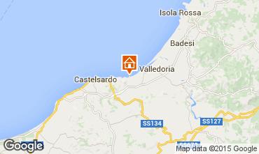 Carte Valledoria Appartement 68457