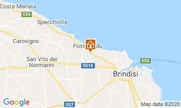 Carte Brindisi Hébergement insolite 117050
