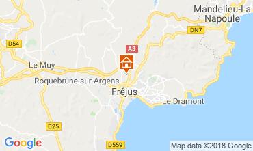 Carte Fréjus Mobil-home 116061