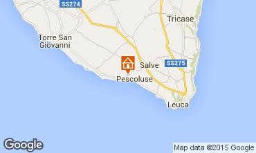Carte Pescoluse Villa 72212