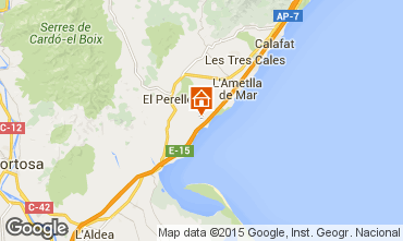 Carte La Ametlla de Mar Maison 101313