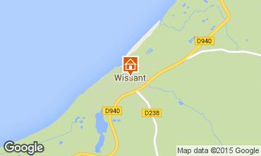Carte Wissant Gite 77926
