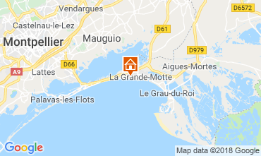 Carte La Grande Motte Studio 108813