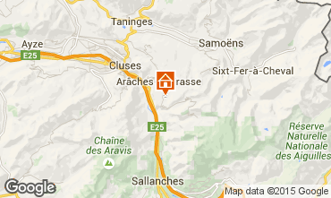 Carte Les Carroz d'Araches Chalet 91310