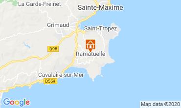 Carte Saint Tropez Mobil-home 108259
