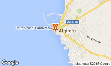 Carte Alghero Appartement 46353