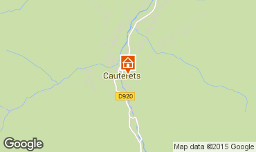 Carte Cauterets Studio 52219
