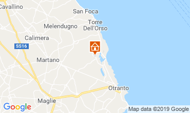 Carte Otranto Gite 118484