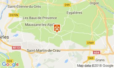 Carte Les Baux de Provence Gite 113913