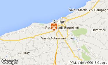 Carte Dieppe Gite 52379