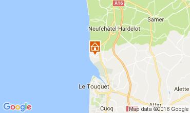 Carte Le Touquet Maison 80399