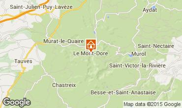 Carte Le Mont Dore Studio 58989